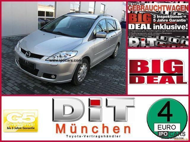 2007 Mazda  5 2.0 7-seater Rückfahrka +5 J * Big Deal Guarantee Van / Minibus Used vehicle photo