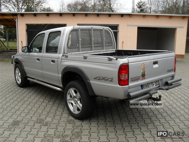 2005 mazda b 2500 xl toplands 4x4 pick up car photo and specs. Black Bedroom Furniture Sets. Home Design Ideas