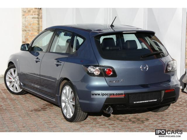 2006 mazda 3 2 3 mzr mps 18 car photo and specs. Black Bedroom Furniture Sets. Home Design Ideas
