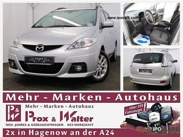 2010 Mazda  5 1.8 MZR Active 7-SEATER + trend + SITZH package. Van / Minibus Used vehicle photo