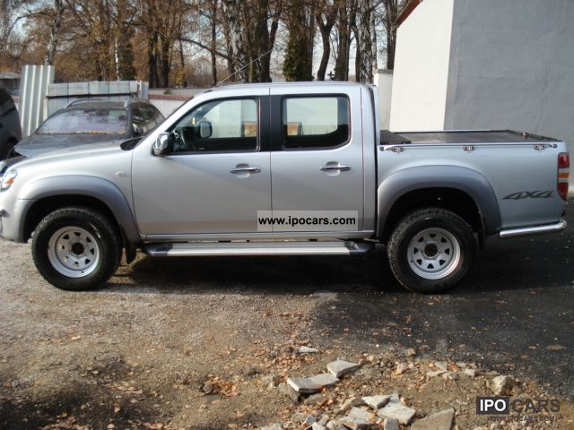 2008 Mazda Bt 50 Xl Cab Double Car Photo And Specs