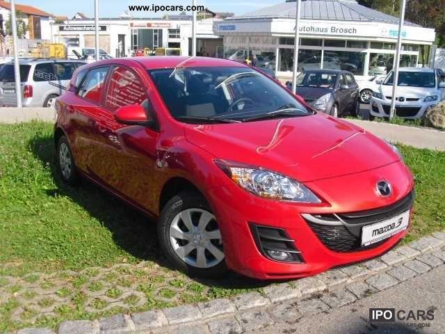 2011 Mazda  105hp 1.6l MZR 3 S AL-5T 5GS ACT incl Standheiz Limousine Pre-Registration photo