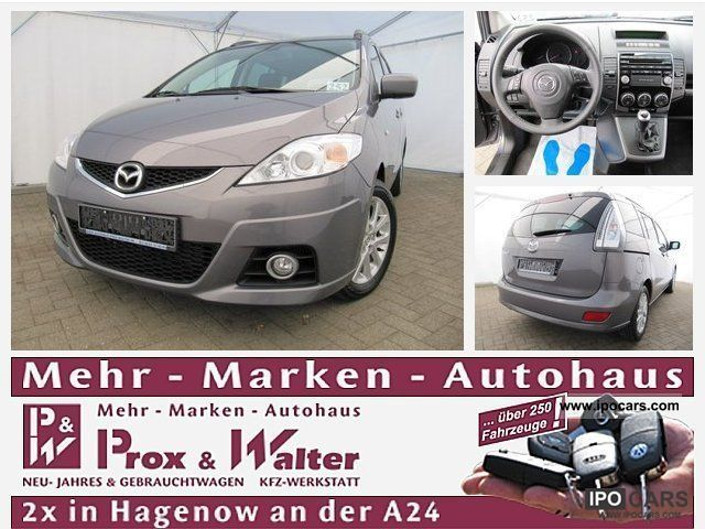 2010 Mazda  5 2.0 7-SEATER CD Active + trend + SITZH package. Van / Minibus Used vehicle photo