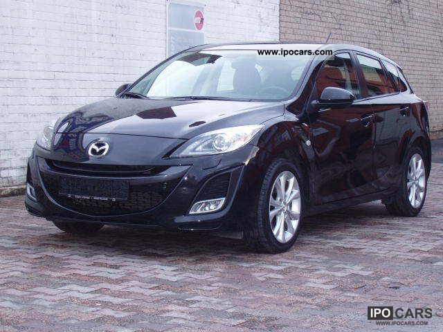 2010 Mazda 3 2.0 MZR DISI Sports-Line Limousine Used vehicle photo