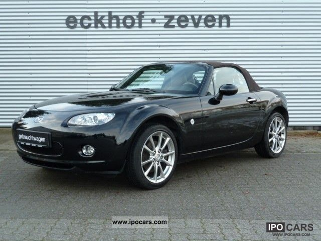 2008 mazda mx 5 1 8 niseko leather air 17 inch euro4 car photo and specs. Black Bedroom Furniture Sets. Home Design Ideas