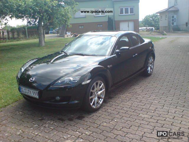 2008 mazda rx 8 40th anniversary car photo and specs. Black Bedroom Furniture Sets. Home Design Ideas