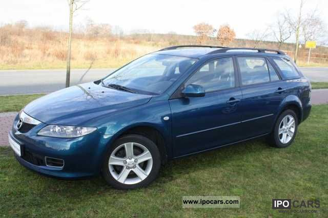 2006 mazda m6 kombi 2 0 diesel exclusive car photo and specs. Black Bedroom Furniture Sets. Home Design Ideas