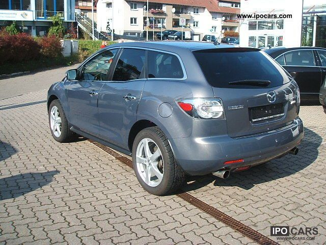 2009 mazda cx 7 2 3 mzr expression leather xenon car photo and specs. Black Bedroom Furniture Sets. Home Design Ideas