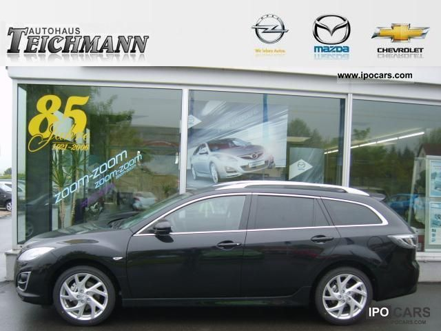 2011 Mazda  6 combination 2.2l diesel sport-line winter tires! Estate Car Employee's Car photo