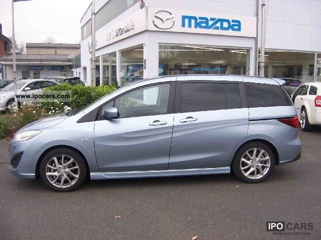 2010 mazda 5 2 0 mzr sport line car photo and specs. Black Bedroom Furniture Sets. Home Design Ideas