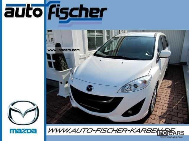 2011 Mazda  5 2.0 Autom.Trend Centre Plus. Navi -20% Van / Minibus New vehicle photo