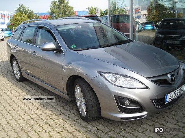 2011 Mazda  6 combined 163 hp 2.2 Edition 125 DIESEL Estate Car Demonstration Vehicle photo