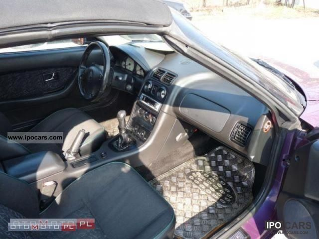 1997 Mg Mgf Jedyna Taka Perelka Car Photo And Specs