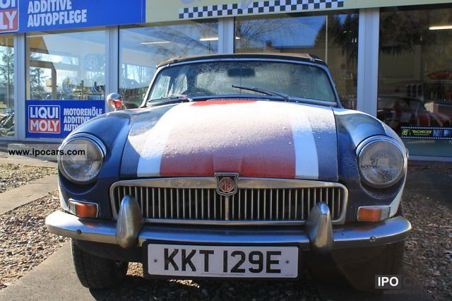 1978 MG  MGB - UNION JACK Model GB-chrome imports Cabrio / roadster Classic Vehicle photo