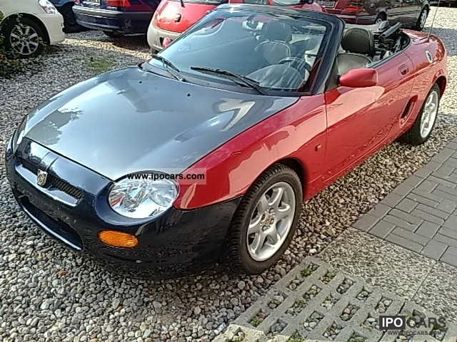 1997 mg mgf ac power abs airbag lmf color glass car photo and specs. Black Bedroom Furniture Sets. Home Design Ideas