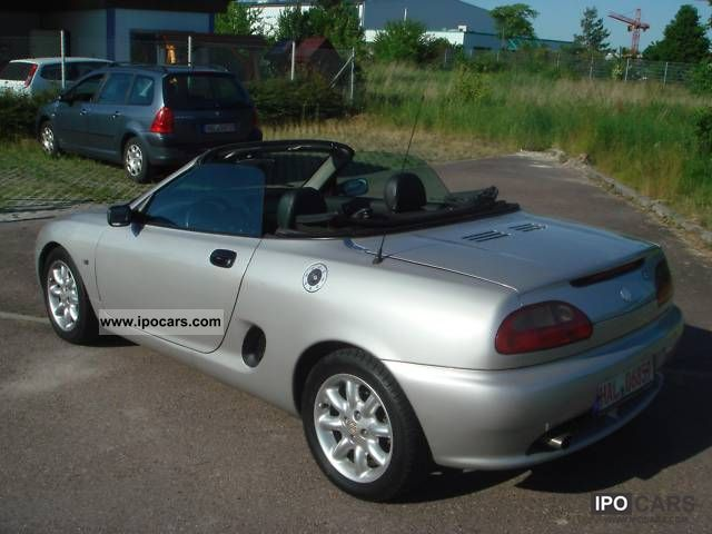 2001 mg mgf car photo and specs. Black Bedroom Furniture Sets. Home Design Ideas