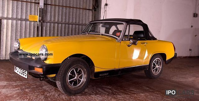 MG  midget 1500 1978 Vintage, Classic and Old Cars photo