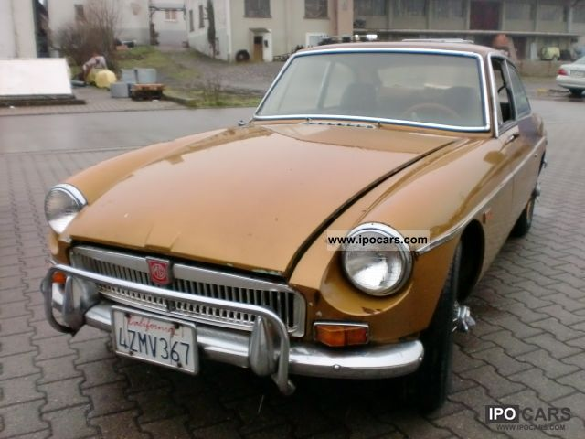 MG  MGB GT \ 1969 Vintage, Classic and Old Cars photo