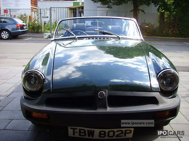 MG  MGB 1978 Vintage, Classic and Old Cars photo