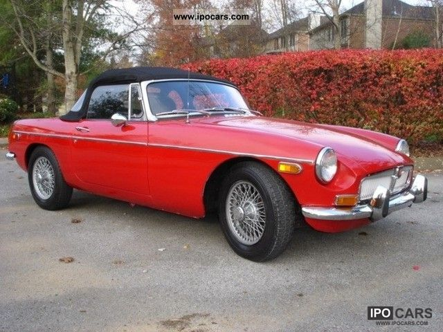 1972 MG  MGB Cabrio / roadster Classic Vehicle photo
