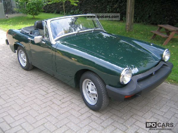 Apologise, specifications for 1978 mg midget you mean?