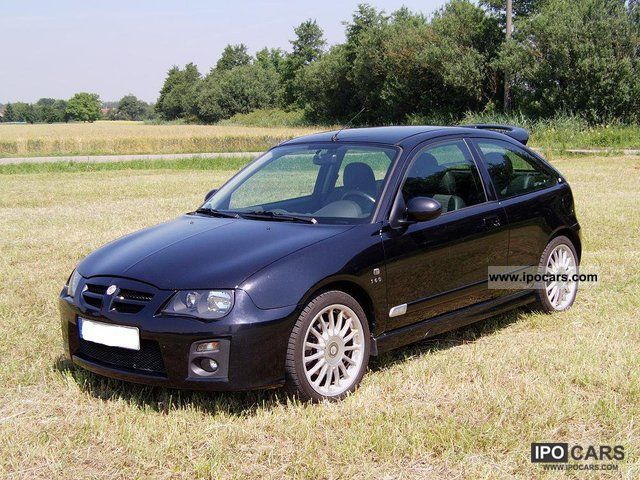 2005 mg zr 160 car photo and specs. Black Bedroom Furniture Sets. Home Design Ideas