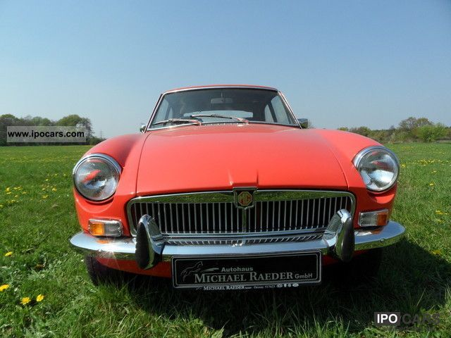 1975 MG MGB GT Deut. Car TUV letter H Gutach. Sports car/Coupe Used