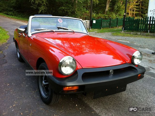 MG  Midget H may be admitted original KM 1977 Vintage, Classic and Old Cars photo