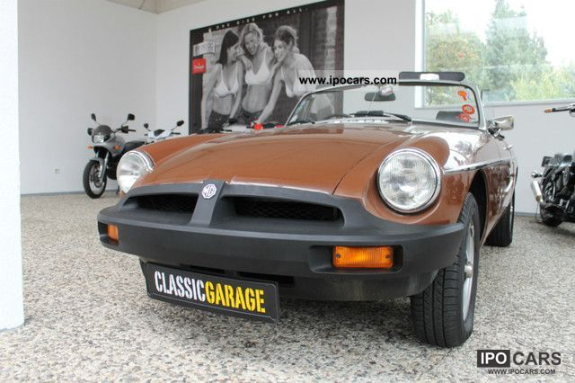1980 MG  MGB Overdrive H-approval Cabrio / roadster Used vehicle photo