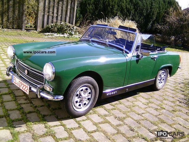 MG  MK III 1970 Vintage, Classic and Old Cars photo