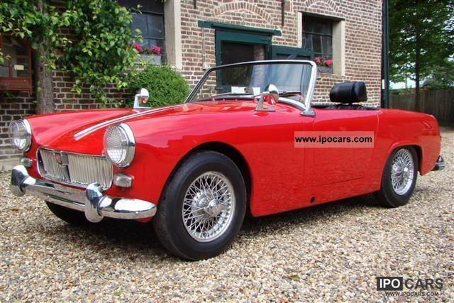 1962 MG  Midget - MKI Cabrio / roadster Classic Vehicle photo