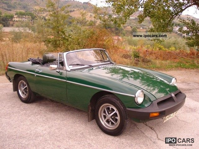 1975 Mg Spider Car Photo And Specs