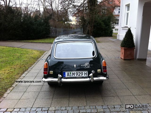 1968 MG MGB GT, \ - Car Photo and Specs