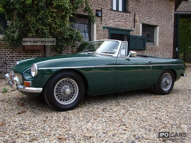 MG  MGB 1968 Vintage, Classic and Old Cars photo