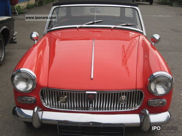 MG  Oldtimer Mark II entry - partly restored 1965 Vintage, Classic and Old Cars photo