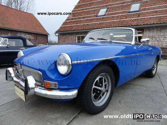 MG  LHD 1974 Blue MGB 1974 Vintage, Classic and Old Cars photo
