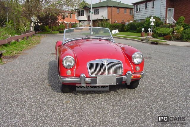 MG  MGA 1957 Vintage, Classic and Old Cars photo
