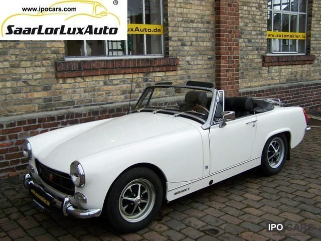 MG  Midget MK IV convertible leather / OIL COOLER 1971 Vintage, Classic and Old Cars photo
