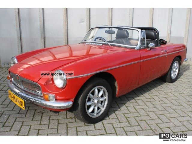 MG  B V8 3500cc 1973 Vintage, Classic and Old Cars photo