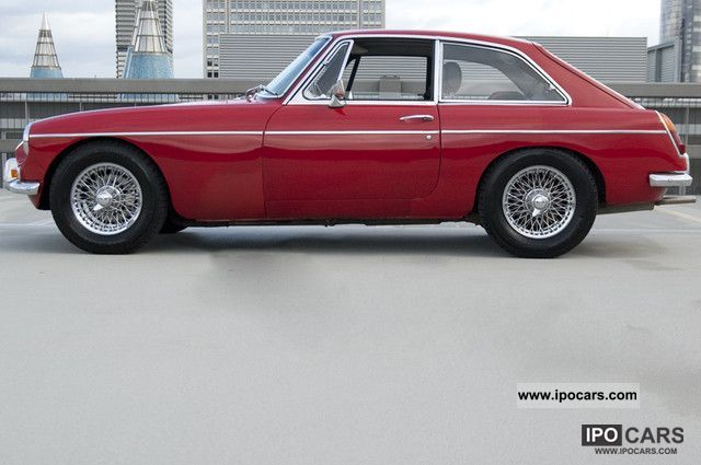 1966 MG  MGB GT MK1 Sports car/Coupe Classic Vehicle photo