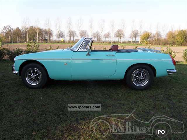 1975 MG  mintgrun cabriolet in good condition overdrive Cabrio / roadster Classic Vehicle photo