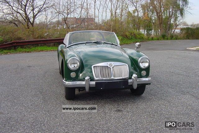 MG  MGA Convertible 1958 Vintage, Classic and Old Cars photo