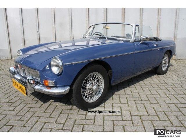 MG  B 1.8 spaakwielen empty 1967 Vintage, Classic and Old Cars photo
