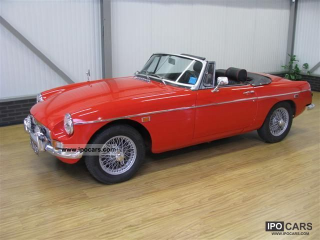 1969 MG  B Convertible Cabrio / roadster Classic Vehicle photo