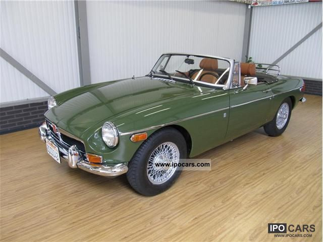MG  MGB Convertible 1974 Vintage, Classic and Old Cars photo