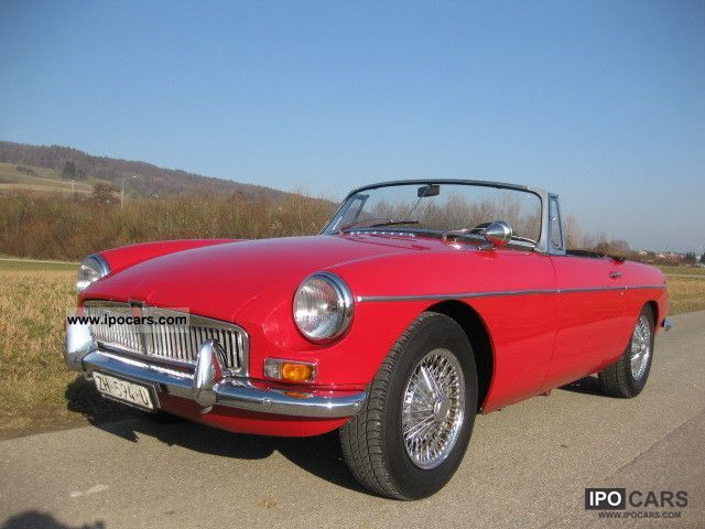 1964 MG  MGB Cabrio / roadster Classic Vehicle photo