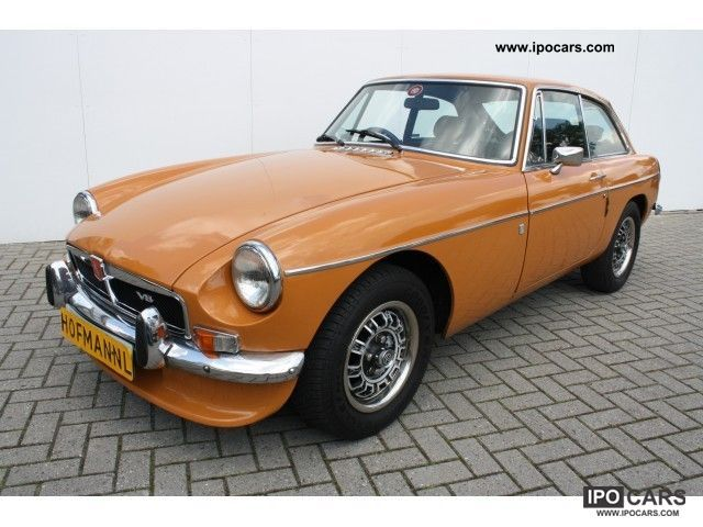 MG  B GT V8 Zeldzame Classic! 1975 Vintage, Classic and Old Cars photo