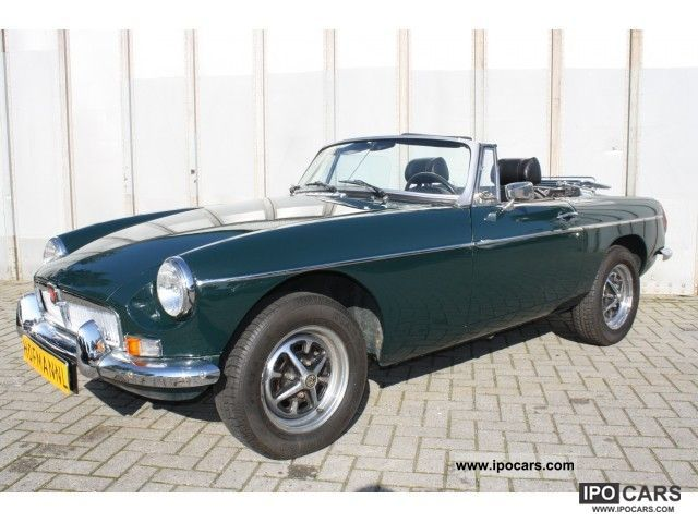 1975 MG  B 1.8 Cabrio / roadster Classic Vehicle photo