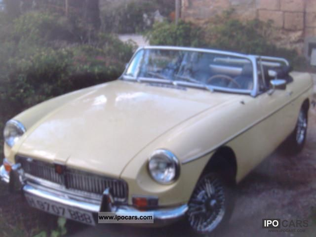 MG  MGB Roadster Chromm. Overdrive 1974 Vintage, Classic and Old Cars photo