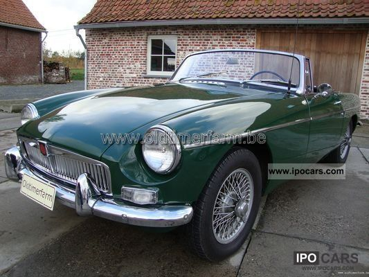 MG  B Green LHD 1966 1966 Vintage, Classic and Old Cars photo